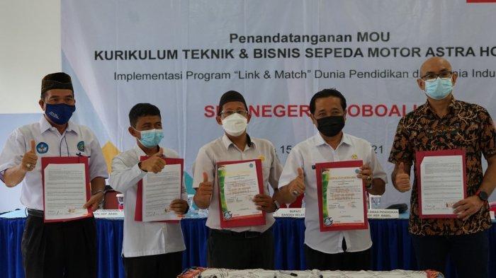 Berkontribusi Majukan Pendidikan di Babel, Honda Resmikan SMK TBSM di Toboali
