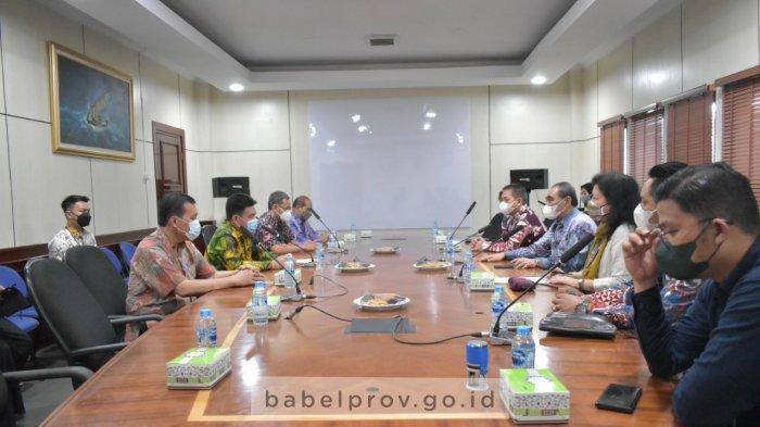 Sekda Bangka Belitung Terima Audiensi Pimpinan LPSK