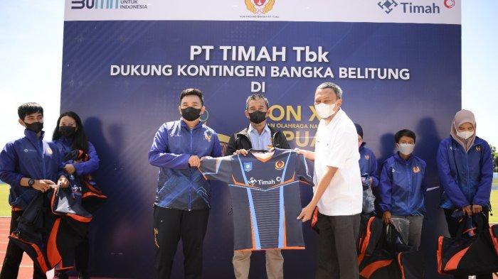 Para Atlet PON Tak Risau Lagi, Terima Bantuan Transportasi Senilai Rp1,4 Miliar dari PT Timah