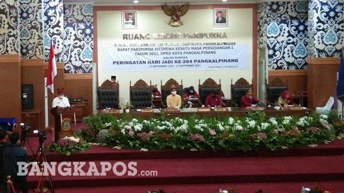 264 Tahun Pangkalpinang, Dewan Minta Jadikan Momentum Evaluasi