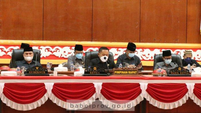 Bahas 4 Raperda, Gubernur Bangka Belitung Harap Pemprov-DPRD Berkolaborasi