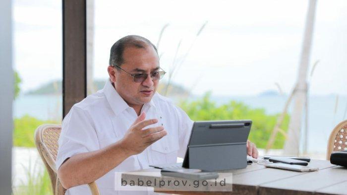 Agenda Gubernur Babel Hari ini, Jalin Kerja sama dengan Provinsi Lampung, Begini Intinya