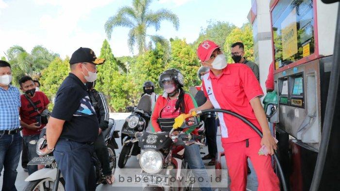 Gubernur Bangka Belitung Turun Langsung Benahi Kelangkaan BBM di Pulau Belitung