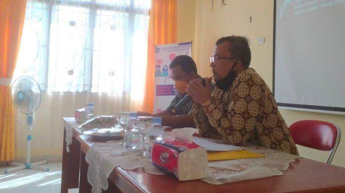 Kejari Bangka Barat menggelar penyuluhan hukum, bertempat di Kantor Kelurahan Tanjung, Kecamatan Muntok, Kabupaten Bangka Barat, Sabtu (18/9/2021).