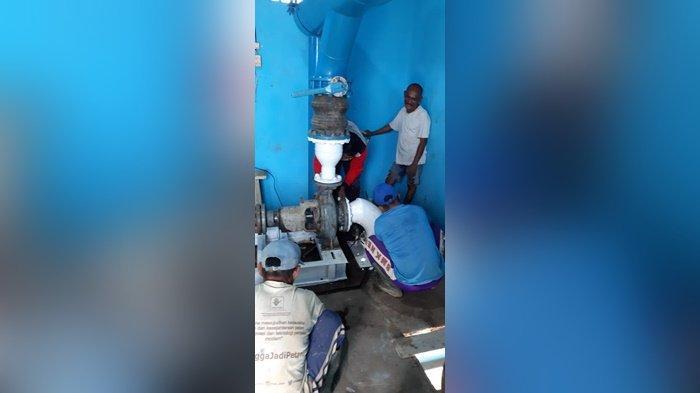 Perbaikan Pompa Intage, Siap-siap Besok akan Ada Pemadaman Aliran Air PDAM di Pangkalpinang