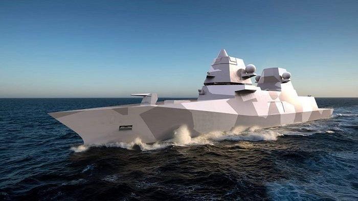 Kapal Tiongkok Teror Laut Natuna Indonesia Tak Gentar Umumkan Punya 2 Kapal Perang Baru dari Inggris
