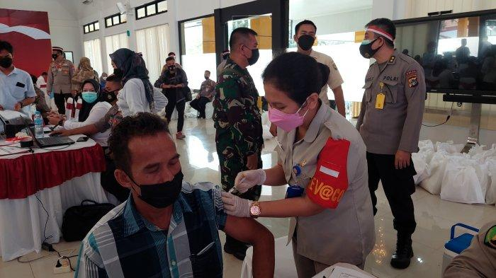 Dandim 0413/Bangka Ajak Masyarakat Tidak Khawatir untuk Vaksinasi Covid-19