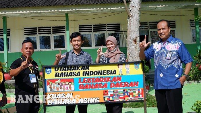 Uji UKBI SMAN 1 Namang Bentuk Motivasi Mengutamakan Bahasa Indonesia
