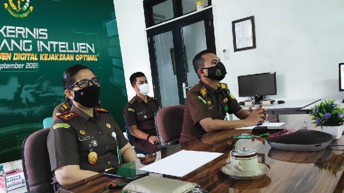Rakernis Bidang Intelijen, Kejari Bangka Barat Jaga Keutuhan NKRI di Era Digital