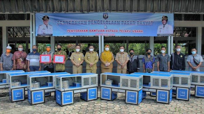 Pulihkan Perekonomian di Tengah Pandemi Covid-19, Pemkab Bangka Selatan Berikan Bantuan IKM
