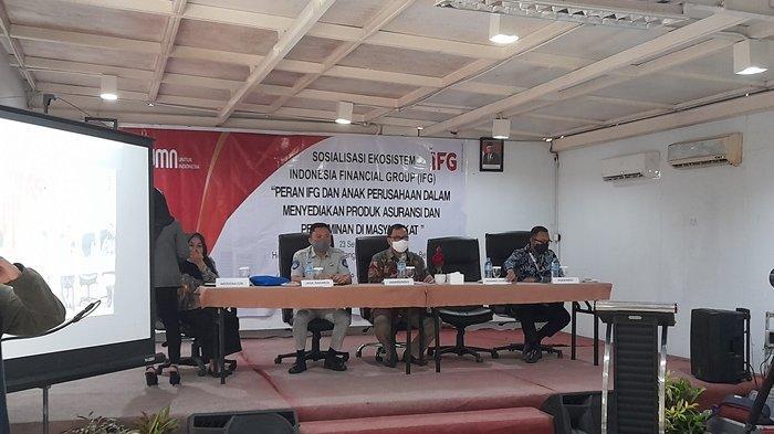 Anggota DPR RI Sosialisasi Peran IFC Penyedia Produk Asuransi dan Penjamin Masyarakat