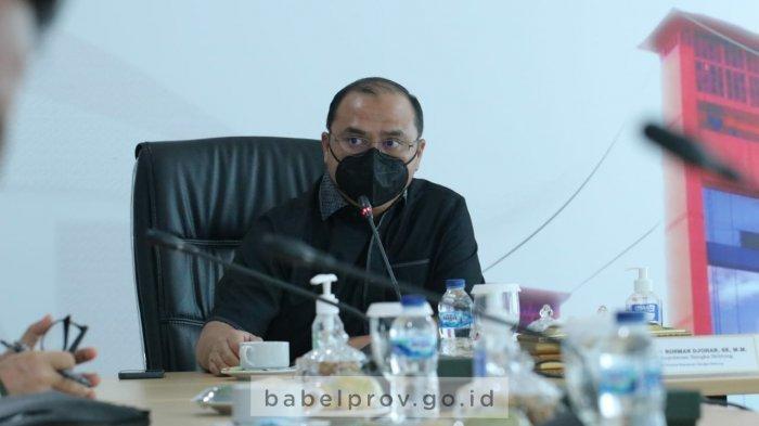 Tingkatkan Perekonomian Daerah, Gubernur Bangka Belutung Audiensi Dengan Kepala OJK Sumbagsel