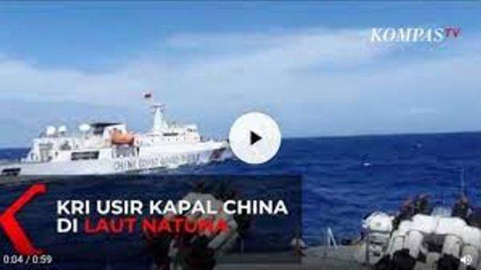 Ribuan Kapal China Mondar-mandir di Laut Natuna Utara, Nelayan Indonesia Ketakutan