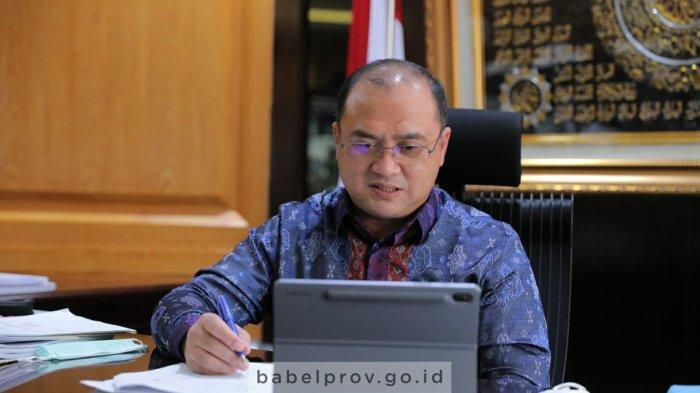 Hari Ini Gubernur Bangka Belitung Rapat Bersama PT BPRS Babel di Palembang