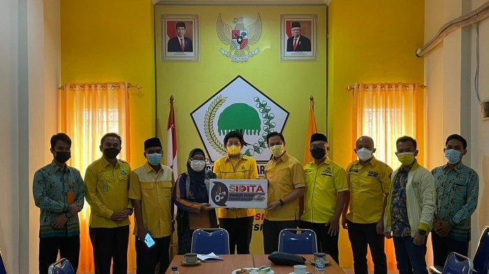 Bawaslu Bangka Belitung Kunjungi Golkar, Sosialisasi SIDITA dan Koordinasi Penguatan Sistem Pemilu