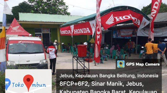 TDM Honda Support Kegiatan Vaksin Covid-19 Desa Kec Jebus
