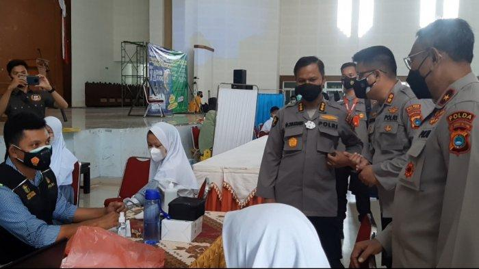 Apresiasi Pelaksanaan Vaksinasi Covid-19 di Bangka Tengah, Wakapolda Minta Tim Satgasus Kompak