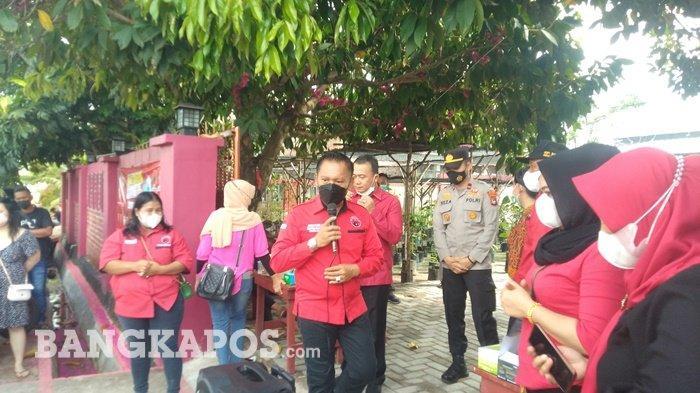 DPD PDIP Bangka Belitung Targetkan Capaian 26 Ribu Vaksinasi Covid-19 kepada Masyarakat