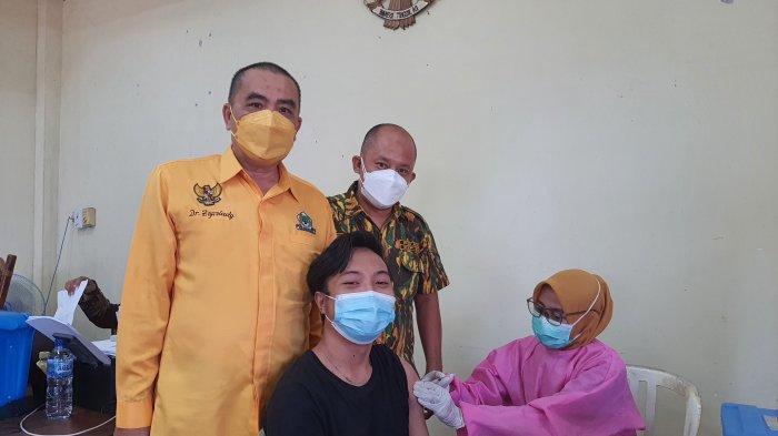 Dukung Program Pemerintah, DPD Partai Golkar Pangkalpinang Gelar Gerai Vaksinasi, Sasar 500 Orang
