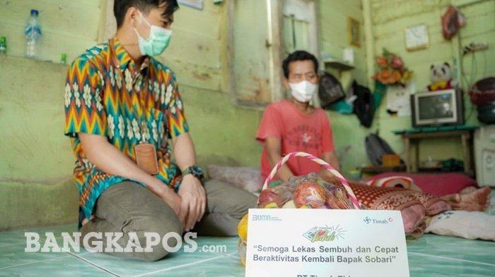 Sobari Akhirnya Bisa Keluar Rumah Sakit Berkat Bantuan PT Timah Tbk