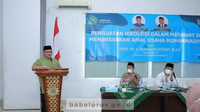 Universitas Muhammadiyah Babel Terus Bergerak Maju, Gubernur Berikan Apresiasi