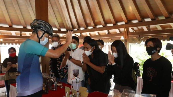 Gubernur Jawa Tengah Ganjar Pranowo Ajak Masyarakat hadiri Festival Kopi Magelang 2 Oktober 2021 Mendatang