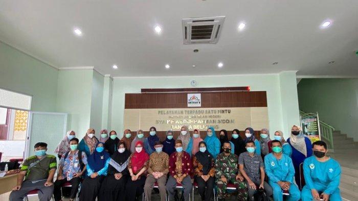 Kerjasama dengan Dinkes Bangka, IAIN SAS Bangka Belitung Sukses Menggelar Program Vaksinasi