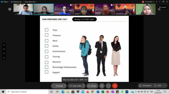 Mahasiswa Prodi Psikologi Islam IAIN SAS Babel Jadi Perwakilan Indonesia The 9TH AFLES 2021