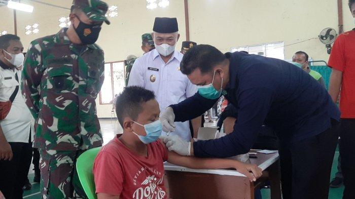 Vaksinasi Covid-19 HUT TNI ke-76 di Bangka Tengah Lebih dari Target, Danrem Berikan Apresiasi