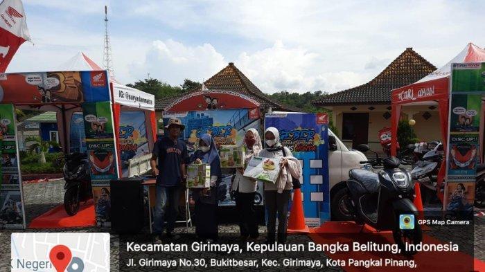 Event Roadshow GEBER di SMK 3 Pangkalpinang Berlangsung Meriah.