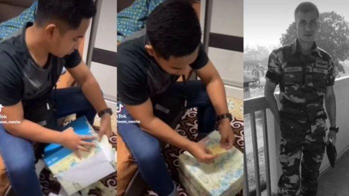 Tangis Pria Ini, Pecah Buka Kado Pernikahan dari Kakak yang Telah Meninggal Setahun Lalu