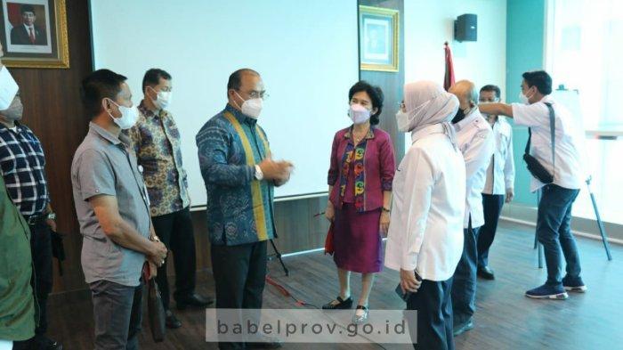 Tingkatkan Layanan Kesehatan Provinsi Bangka Belitung, Gubernur Kunjungi RSCM