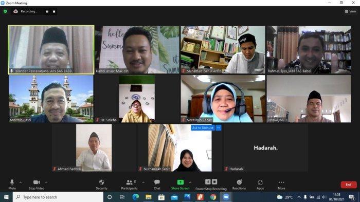 Pascasarjana IAIN SAS Babel Jalin Kerjasama dengan Kolej Universiti Islam Antar Bangsa Selangor