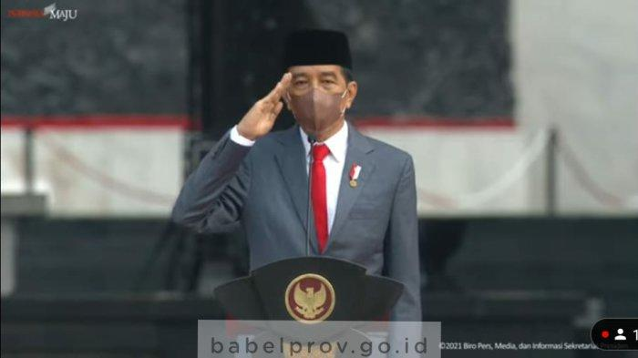 Gubernur Bangka Belitung Hadiri Upacara Peringatan Hari Kesaktian Pancasila
