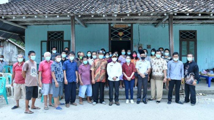 Jelang Perayaan Imlek, Bupati Bangka Sosialisasi Prokes di Kampong Gedong Belinyu
