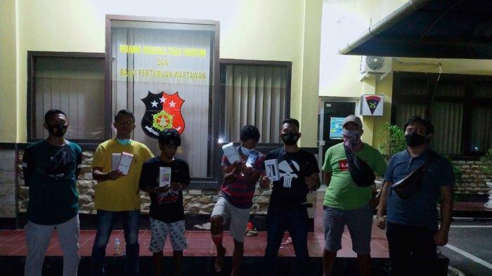 Dua Pelaku Begal di Pantai Penyak Diringkus Polres Bangka Tengah, Satu Pelaku Ditembak di Kaki