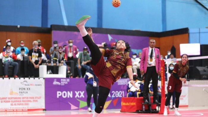 Pesepak Takraw Putri Jateng Mendapat Dukungan Langsung dari Gubernur Ganjar Pranowo