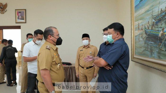 Gubernur Erzaldi Minta Pertamina Percepat Pengembangan Depot dan Pertashop