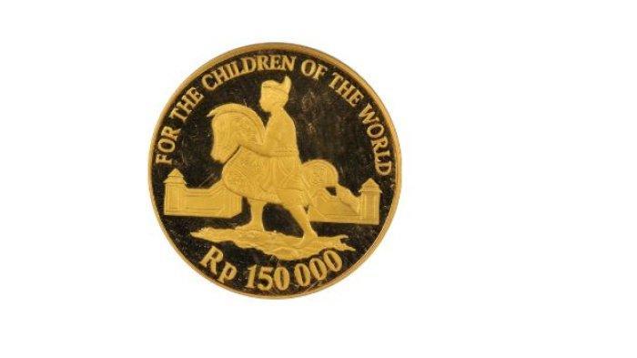 Uang Logam Emas Rp 150.000