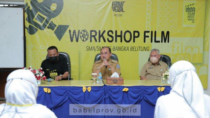Gubernur Erzaldi Resmikan Workshop Perfilman di Babel Film Fest 2021