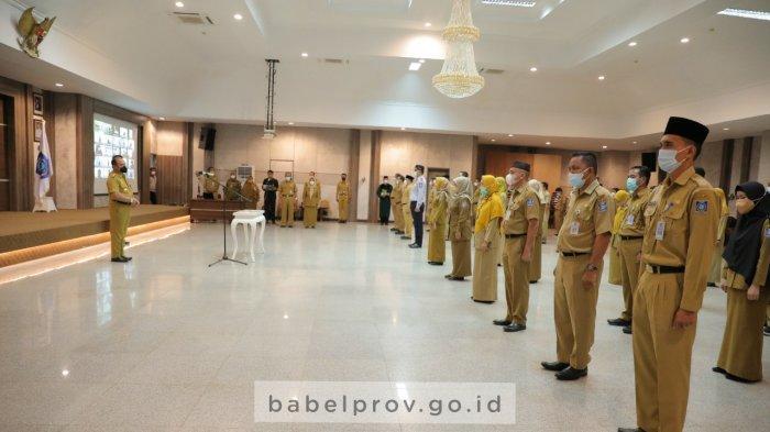 Tindak Lanjuti Rekomendasi KASN, Gubernur Lantik Pejabat Pengawas, Administrator dan Fungsional