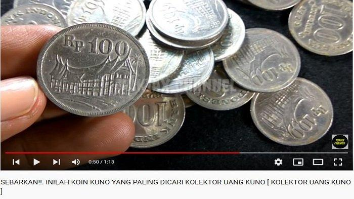 Begini Bentuk dan Bahan Uang Koin Rp100 yang Mau Dibeli Youtuber ini Paling Murah Seharga Rp3 Juta