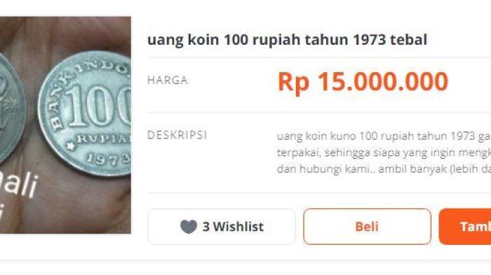 Uang Koin Rp 100 Rumah Gadang