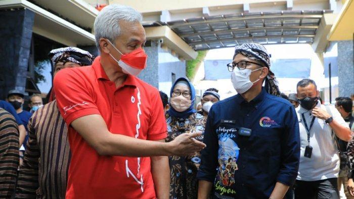 Ganjar Pranowo Ingin Perbanyak Event Berkelas di Sangiran