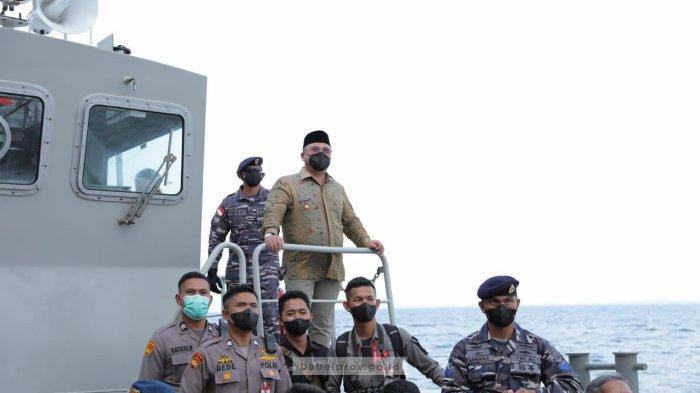 Gubernur Bangka Belitung Kunjungi KRI Semarang-594, Begini Pesannya