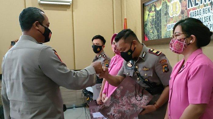 Sertijab di Polres Bangka Barat, Ini Nama Pejabat yang Digeser