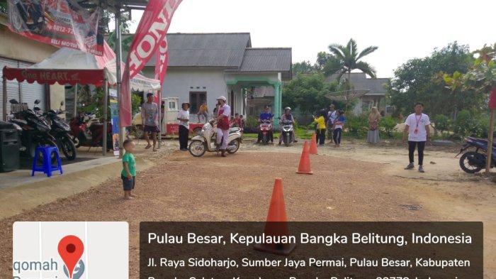 Honda ASP Toboali dalam rangka turut mencegah penyebaran virus covi- 19 dan membantu meningkatkan imunitas tubuh warga  dengan gelar Senam Sehat di desa Sumber Jaya Permai, Pulau Besar Basel (09/10).
