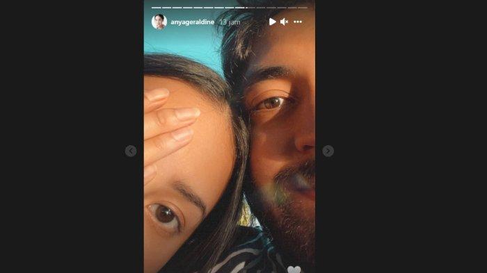 Setahun Disembunyikan, Anya Geraldine Posting Muka dengan Pria Brewok, Identitas Pacar Baru Dibuka