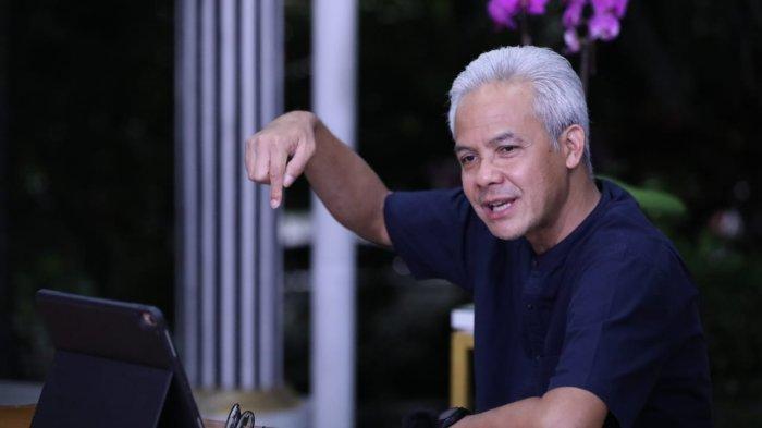 PMI Asal Cilacap Minta Jodoh ke Gubernur Ganjar Pranowo Saat Disapa Lewat Zoom