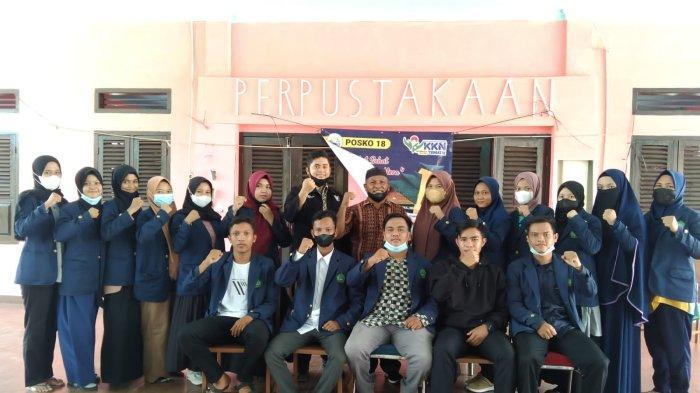 Mahasiswa IAIN SAS Bangka Belitung KKN di Dusun Tanah Merah